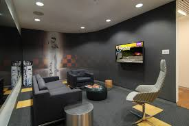 black leather sofas glass countertops and black rug on pinterest best office design ideas