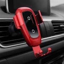 Baseus Metal Wireless Charger <b>Gravity Car</b> Mount (<b>Air Vent</b> Version ...