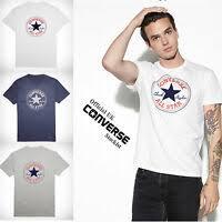 Men's <b>Converse</b> All Star Chuck Taylor Cotton T-Shirt | eBay