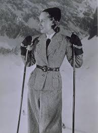 <b>Woman</b> in <b>Ski Suit</b> with Leather Belt - Studio Becker und Maass ...