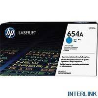 Купить <b>HP CF331A Картридж</b> оригинальный <b>654A</b> синий (голубой ...