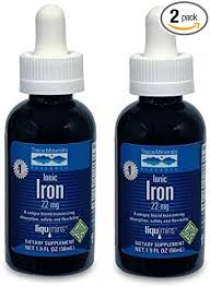 Trace Minerals Research Liquimins Ionic Iron, 22 mg ... - Amazon.com