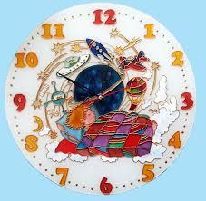 <b>Dreams</b> of a Boy Glass Clock, <b>kids</b> room, glass painting, <b>children's</b> ...