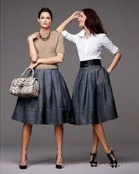 джинсовая <b>юбка</b> колокольчик | <b>A line</b> skirt outfits, Skirt fashion ...