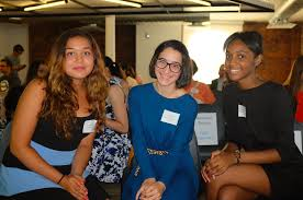 the next generation of women engineers the graduates pitched their app concepts to uber ceo travis kalanick girls who code founder and ceo reshma saujani uber s east coast general manager