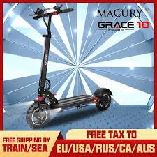 Macury GRACE 10 <b>Electric Scooter</b> Zero 10 Grace10 Zero10 ...