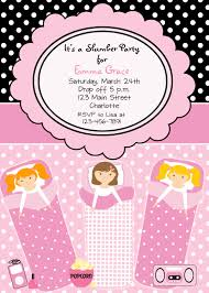 slumber party invites net slumber party invitation diagrams party invitations
