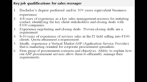 s manager job description s manager job description