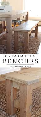 dining room bench seating: learn how to build an easy diy farmhouse bench perfect for saving space in a