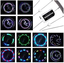 DAWAY LED <b>Bike Spoke Lights</b> - A12 Waterproof Cool <b>Bicycle</b> ...