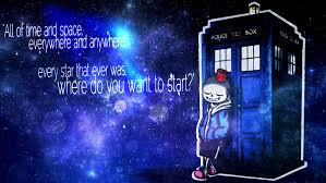 where do you want to start undertale doctor who by niuniunuko