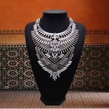Fashion <b>Women</b> Multi-Layer <b>Choker Collar Pendant</b> Chain Bib ...