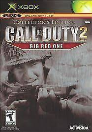 Call of Duty 2: Big <b>Red One</b> -- Collector's Edition (Microsoft Xbox ...