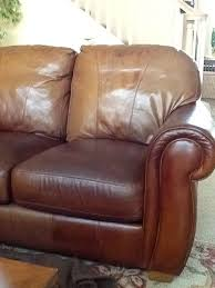 staining leather sofa what a difference sofa is 10 years old and some of can you paint leather furniture