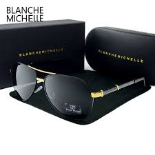 <b>Blanche Michelle</b> 2019 <b>High</b> Quality Pilot Polarized Sunglasses Men ...