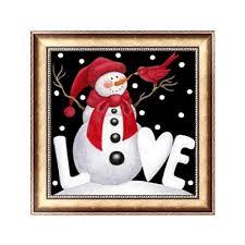 HoHome <b>DIY</b> Christmas <b>Snowflake</b> Snowman 5D <b>Diamond</b> Painting ...