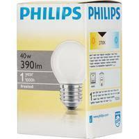 <b>Лампа накаливания Philips 40 Вт</b> E27 шаровидная матовая 2700 ...