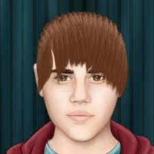 Masz ochotę zostać fryzjerką Justina Biebera robiąc mu zwariowaną nową fryzurę? W tej ubierane jest to możliwe. Ciekawe jak fryzura ci wyjdzie? - Zwariowana-fryzura-Justina-Biebera