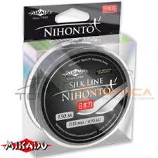 <b>Леска Mikado NIHONTO</b> SILK LINE 150м - Рыболовные товары ...
