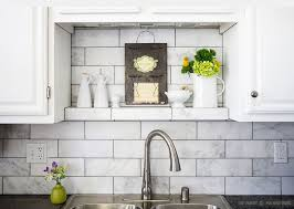 subway tiles tile site largest selection: large white subway marble kitchen backsplash tile with black countertop and white cabinets from backsplash