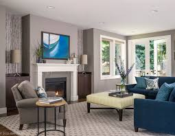 queen anne home transitional living room seattle by navy blue couches living room green blue couch living room ideas