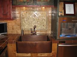 hammered copper kitchen sink:  incredible kitchen hammered copper kitchen sink signaturehardware copper and copper kitchen sinks