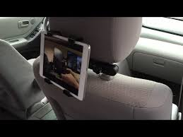 Adjustable <b>Car Back Seat</b> Head Rest Tablet <b>Mount</b> & Stand   Tab ...