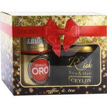 Подарочный набор Golden Gift кофе Lavazza Qualita Oro ...