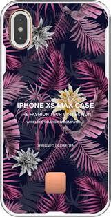<b>Клип</b>-<b>кейс Happy Plugs для</b> Apple iPhone XS Max Hawaiian Nights ...