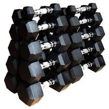 «Набор <b>гексагональных гантелей Original FitTools</b> 16 пар от 1 до ...