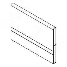 <b>TRIOMAX поперечный разделитель</b> для ящика 500 мм, <b>серый</b> ...
