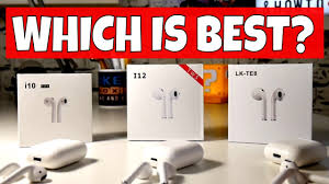 Which Airpods Clone Is Best i10 <b>TWS</b> i12 <b>TWS</b> or i13 <b>TWS</b> LK-TE8?