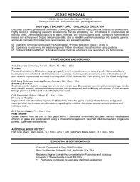 kindergarten teacher resume examples help resume teacher