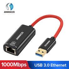 <b>USB</b> Ethernet адаптер <b>USB</b> 3,0 <b>сетевая карта</b> для RJ45 Lan для ...
