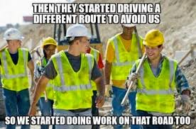 funny photos, construction worker meme via Relatably.com