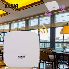 <b>KuWFi 300Mbps Wireless Router High</b> Performance Indoor Celling ...