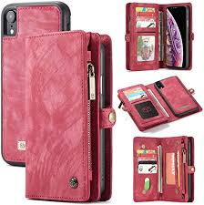BTJP-1 Leather <b>Wallet Case</b> Flip Magnetic Detachable Case Flip ...