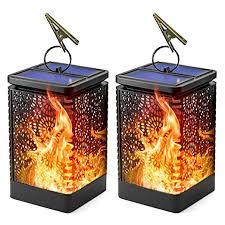 <b>Solar</b> Lantern Lights, Waterproof Outdoor Hanging <b>Solar</b> Lights with ...