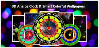 <b>3D</b> Analog clock: <b>Smart colorful</b> wallpapers - Apps on Google Play