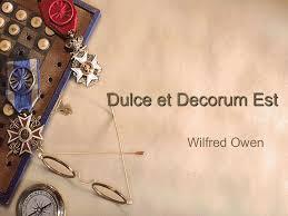 decorum quotes quotesgram follow us follow acircmiddot dulce decorum est powerpoint