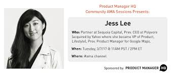 product manager hq a comprehensive resource for product managers product q a jess lee