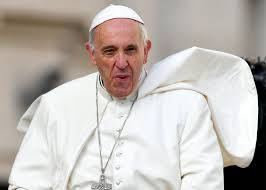 pope francis amoris laetitia is a closeted argument for gay pope francis grimaces upon his arrival in st peter square for his weekly general