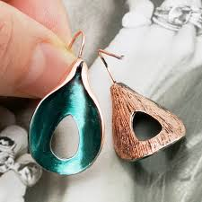 <b>Vintage Ethnic Flower</b> Oil Drop Dangle <b>Earrings</b> for Women Female ...