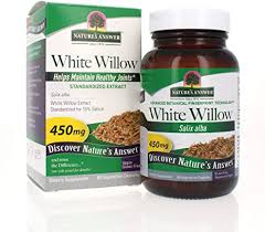Nature's Answer White <b>Willow</b>, Bark <b>Standardized</b> 60 Vcaps ...