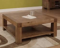Devon square <b>coffee table solid reclaimed</b> oak wood furniture ...
