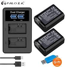 <b>2Pcs 2000mAh NP FW50 NP</b> FW50 Camera Battery + USB LCD ...