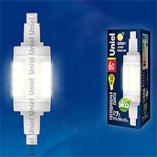 <b>LED</b>-<b>J78</b>-<b>6W</b>/<b>WW</b>/<b>R7s</b>/<b>CL PLZ06WH Лампа</b> светодиодная ...
