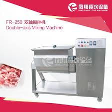 FR-250 <b>Double axis mixing</b> machine - China - Manufacturer - Meat
