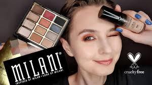 <b>MILANI</b> | Любимые продукты | Три макияжа <b>палеткой Milani</b> Bold ...