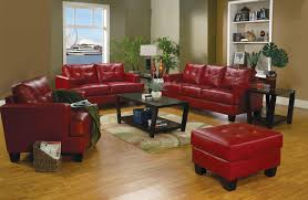 living room engaging samuel red leather living room set 501831 from coaster 501831 photo of astounding red leather couch furniture